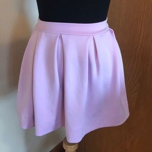 Honey Punch Lilac Skater Skirt